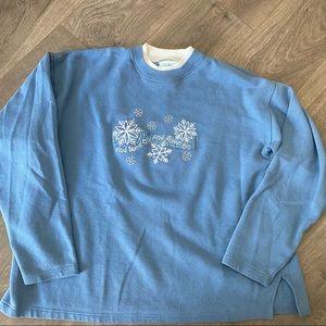 Vintage Grandma Christmas Holiday Sweater Size XL
